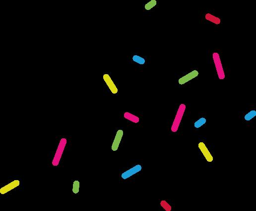 Décoration confettis photo à propos